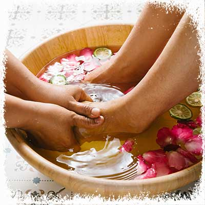 Footbath at the best Skin Care Spa in Fort Lauderdale